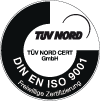 warehouse logistics is certified by DIN EN ISO 9001
